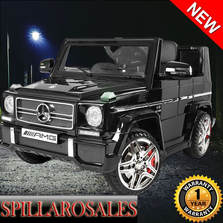 NEW Mercedes-Benz AMG G65 Kids Ride on Motorised Car Remote Control Toy Jeep