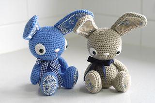 Bunny Hat - Beginner Crochet Patterns
