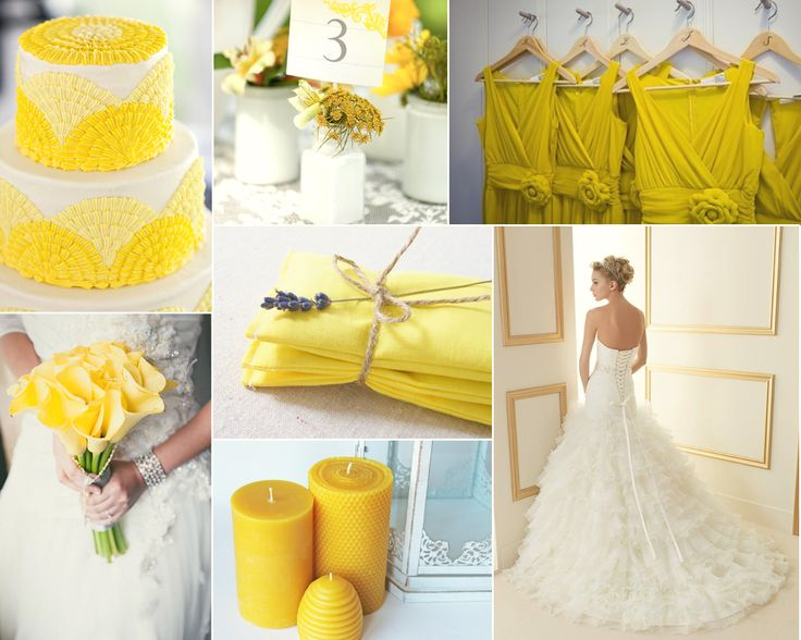 Yellow inspiration! #wedding #sposa