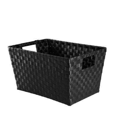 Förvaringskorg Max, 26x20x36 cm, svart