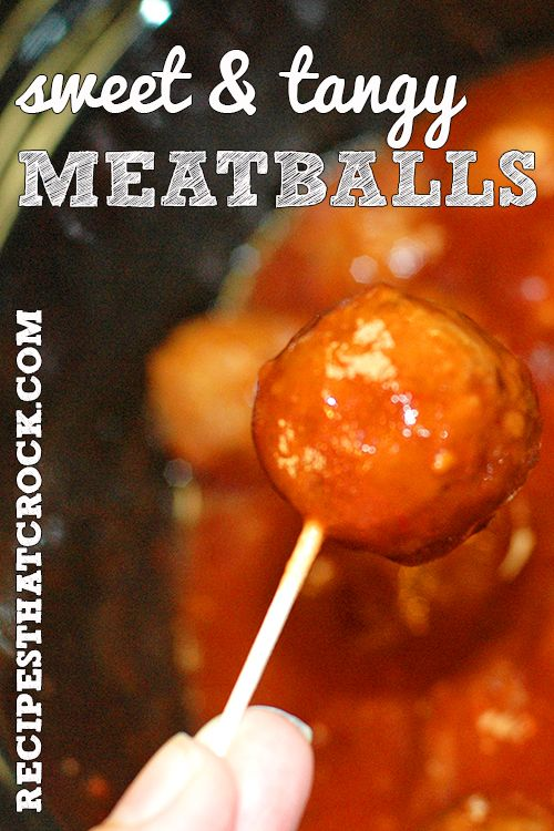 Are you looking for a quick and easy appetizer to take to a holiday or game day party? These Sweet Tangy Meatballs are the perfect dish. They can be thrown together in less than five minutes and your slow cooker takes it from there. Much like yesterday's BBQ Sticks and Stones, these Sweet Tangy Meatballs...Read More »