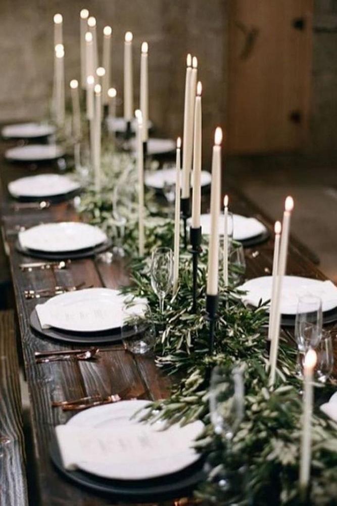 24 Cool Minimalist Wedding Decor Ideas Minimalist Wedding Decor Rustic Wedding Table Affordable Wedding Centerpieces