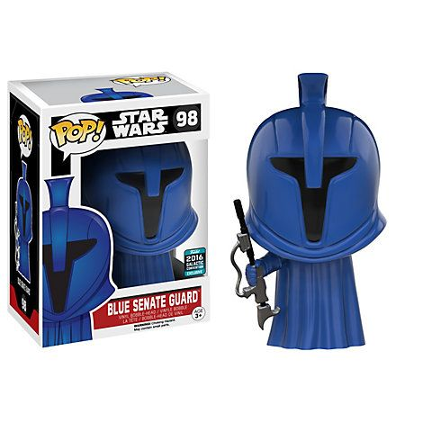 Star Wars Blue Senate Guard Pop! Vinyl Figure by Funko