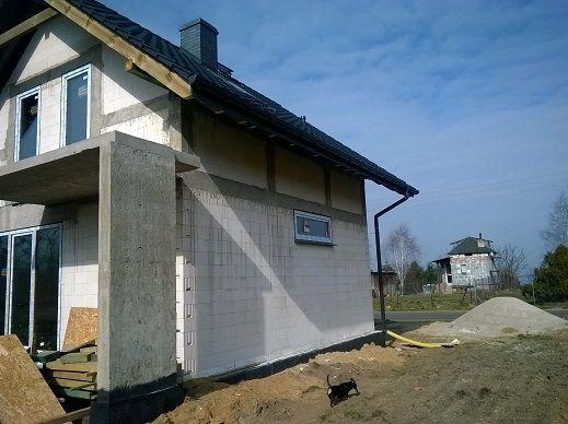 Elewacja boczna  #budowa #projekt #dom