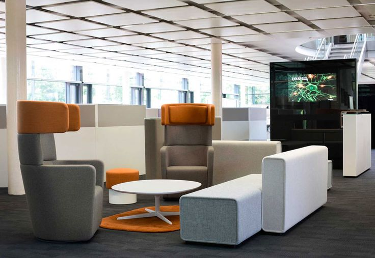PARCS by Bene is room-shaping furniture for collaborative interactions. #table #chair #room