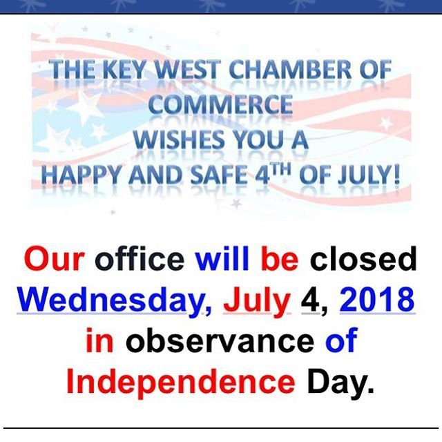 Friendly Reminder That Our Office Will Be Closed Tomorrow July 4th