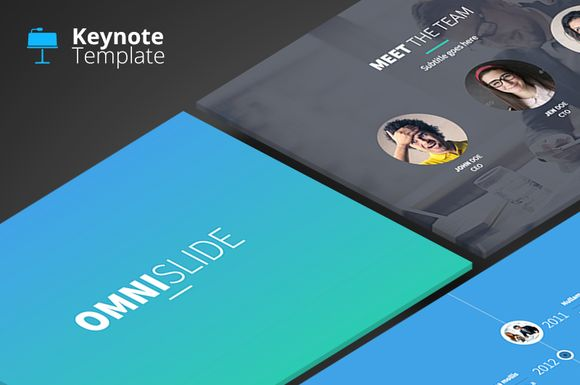 Check out OmniSlides - Keynote Template by Slidehack on Creative Market