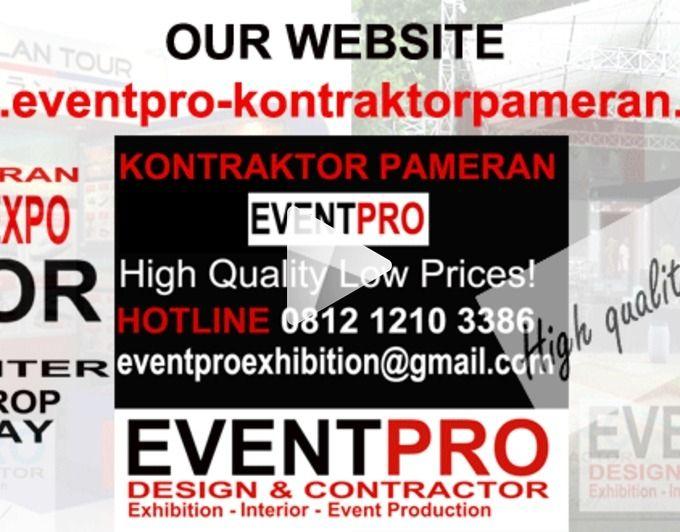 KONTRAKTOR PAMERAN | JASA PEMBUATAN BOOTH PAMERAN JAKARTA | HIGH QAULITY LOW PRICES | 081212103386 - 081290452586