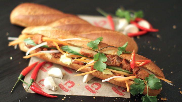 Vietnamesisk mat: Slik lager du trendy bánh mì