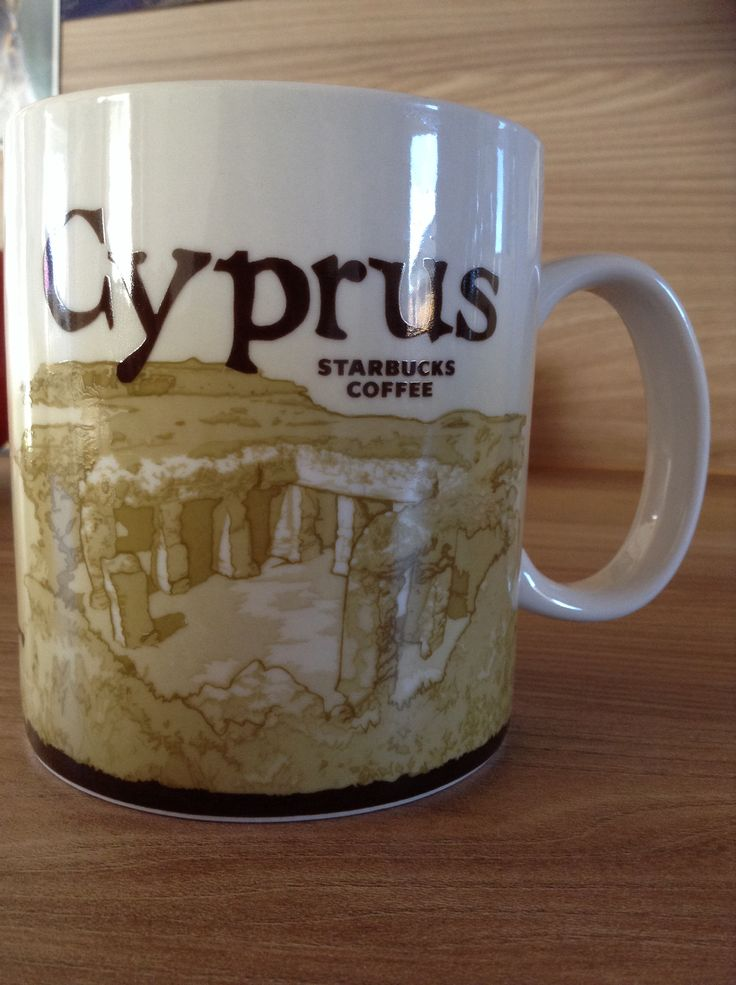 Cyprus Starbucks City Mug