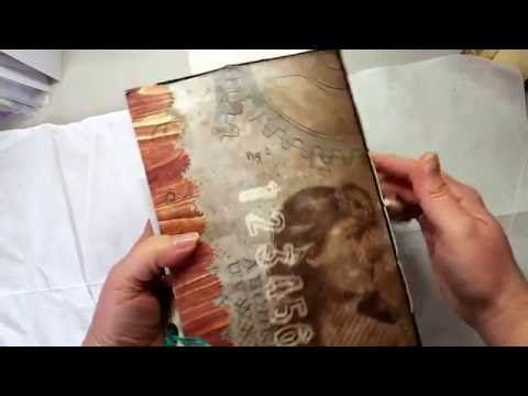'All About Junk' Junky Junk Mail Journal from Christine Taylor - YouTube