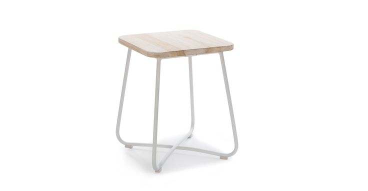 Nimbus White Side Table - Coffee Tables - Article | Modern, Mid-Century and Scandinavian Furniture