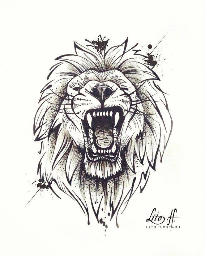 #sketch #skketchtattoo #tattoos #drawing #liontattoo  – tattoo –