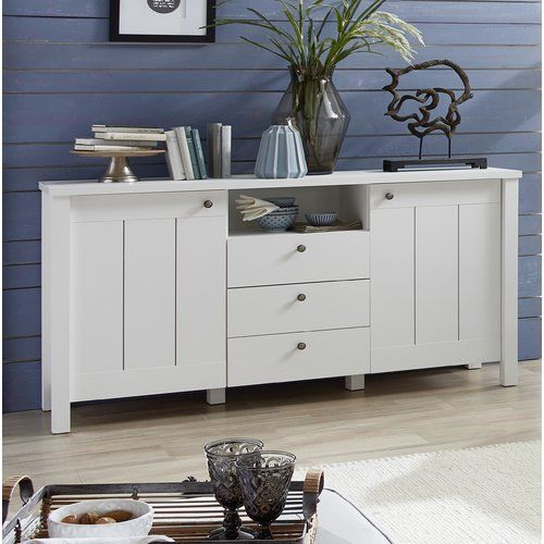 Sylt Sideboard Beachcrest Home Sideboard Sliding Doors Retro