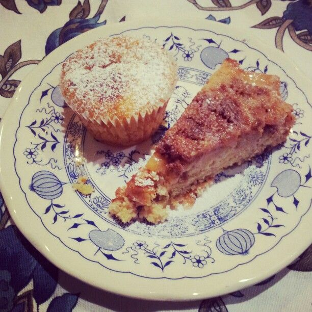 Apple muffin plus apple cinnamon cake - muffin alle mele e torta mela&cannella