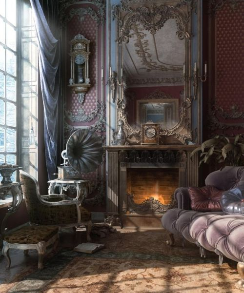 I could live in this room.