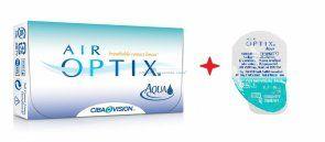 Soczewki kontaktowe AirOptix Aqua 4 szt. - soczewki miesięczne, sferyczne