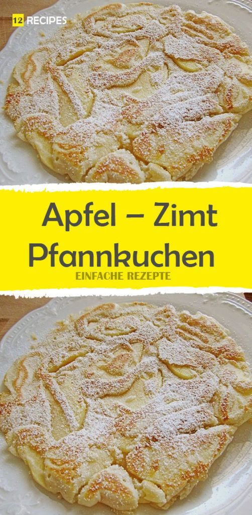 Apple – cinnamon – pancake 😍 😍 😍