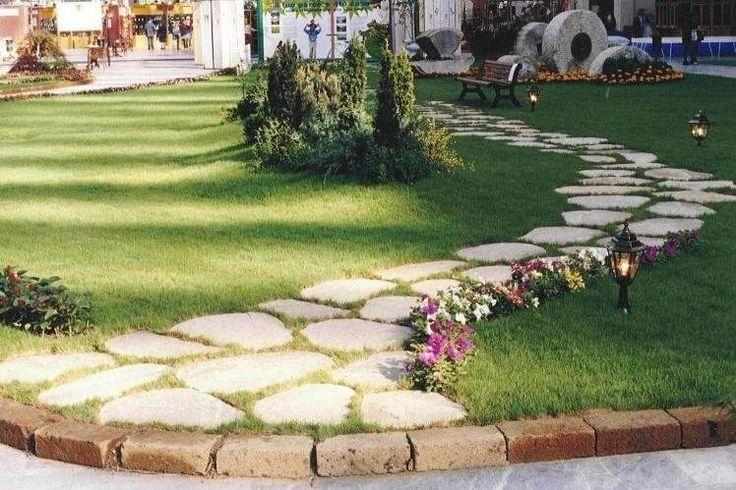 Vialetto giardino fai da te - Vialetto dall'aspetto naturale