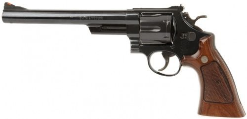 "Dirty Harry Callahan's gun, a Smith & Wesson Model 29 revolver with 8 3/8"" barrel - .44 Magnum."