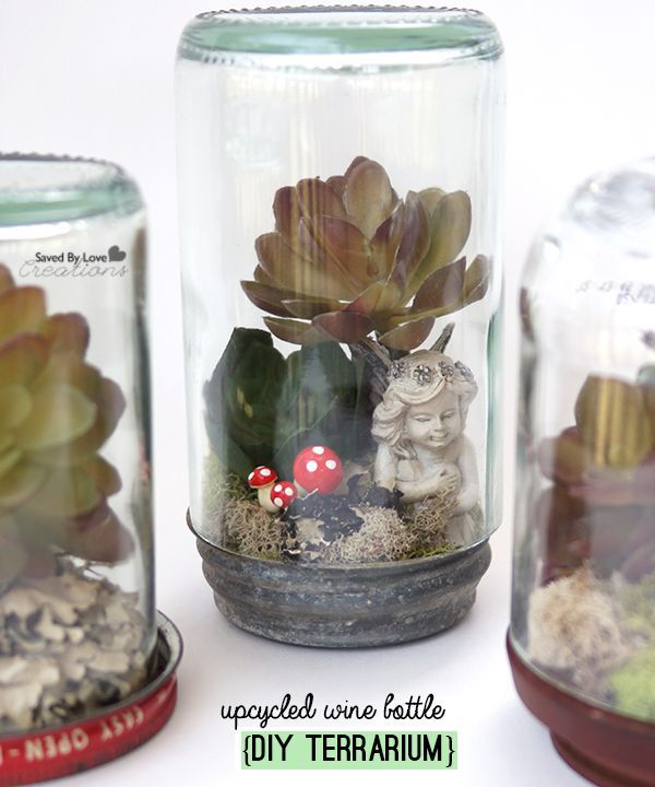 Craft Ideas For Using Glass Bottles