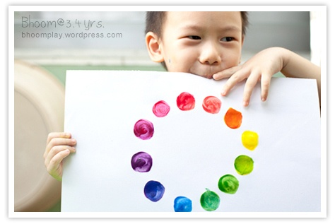 Teach Primary Colors and How to Mix an Additional 12! by bhooomplay #Color_Wheel