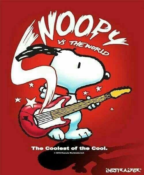 Snoopy n Rock