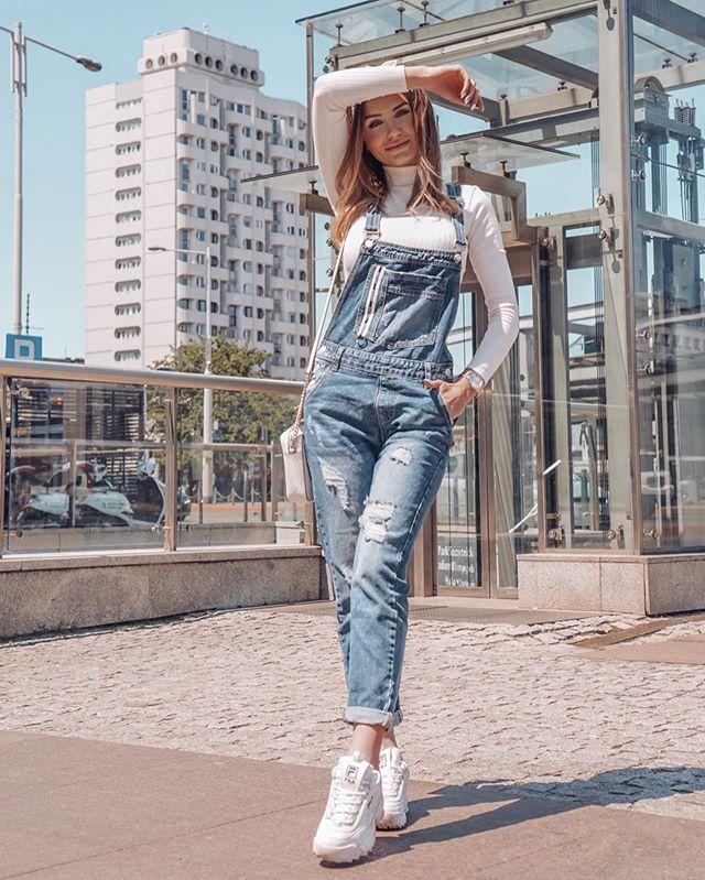 A N G E L A V Instagram Taki Czerwiec To Ja Rozumiem Kto Lubi Ogrodniczki Shoq Pl Fashion Style Overalls