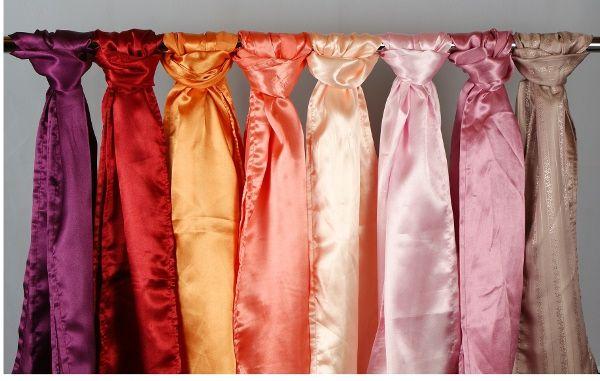 pirostól a rózsaszínig, masniszínek - from red to pink sashes - Amaltheia Manufaktúra virág és dekoráció