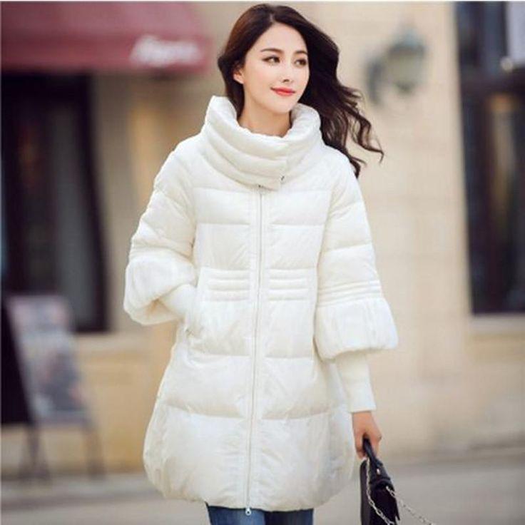Hitz Winter Women Jacket 4 Colors Hot Sale 2017 S-2XL Cloak Parka Female Padded Jacket Cotton Down Women Winter Coat #Affiliate