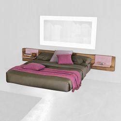 Double beds-Beds and bedroom furniture-Fluttua Wildwood_bed-LAGO
