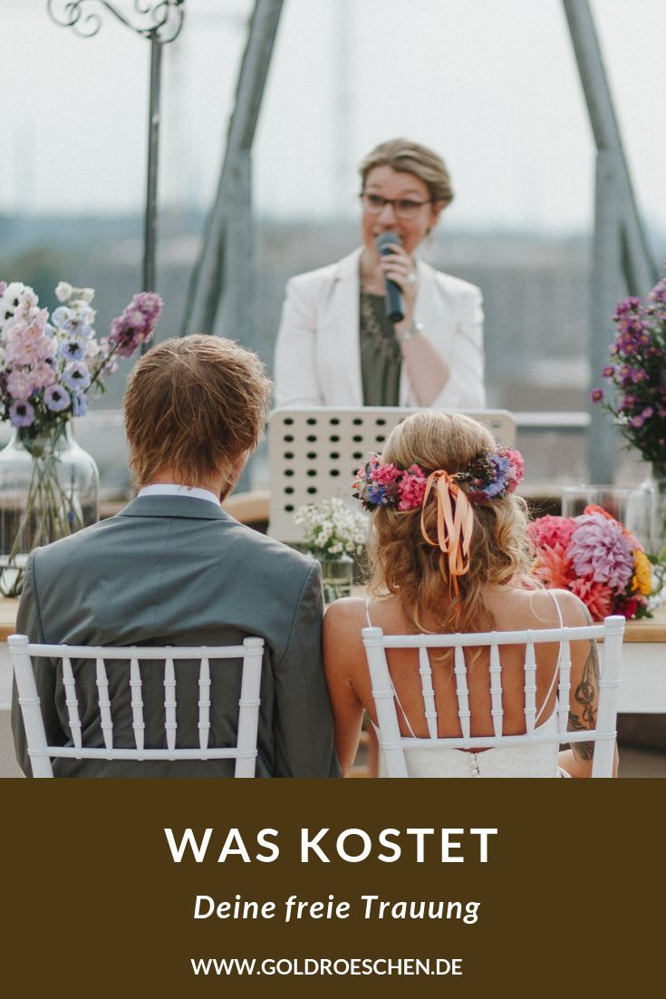 Was Kostet Ein Hochzeitsredner Fur Eure Freie Trauung Kosten Hochzeit Trauung Hochzeit