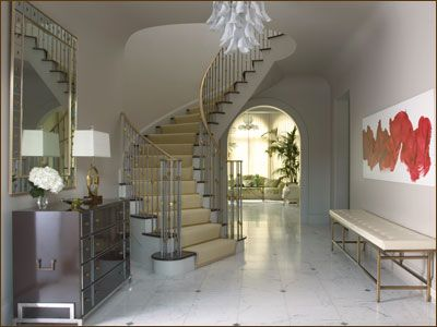 Dream foyer.  Jan Showers!!: Shower Design, Grand Entrance, Interiors Design, Book Review, Jan Shower, Entry Hall, Glamorous Rooms, Home Offices, Sweet Life