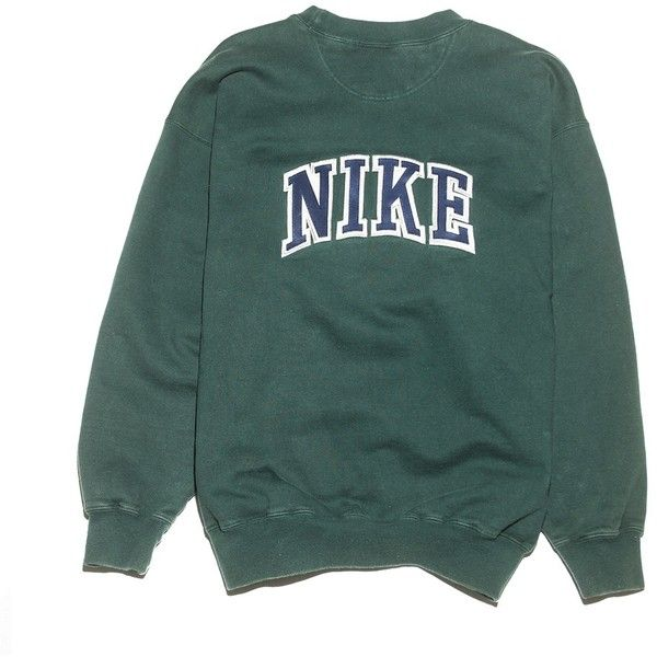Nike Check Sweatshirt Perennial Merchants (€21) ❤ liked on Polyvore featuring tops, hoodies, sweatshirts, sweaters, clothing - ls tops, checkered top, cotton sweatshirts, sleeve top, green sweatshirt and nike