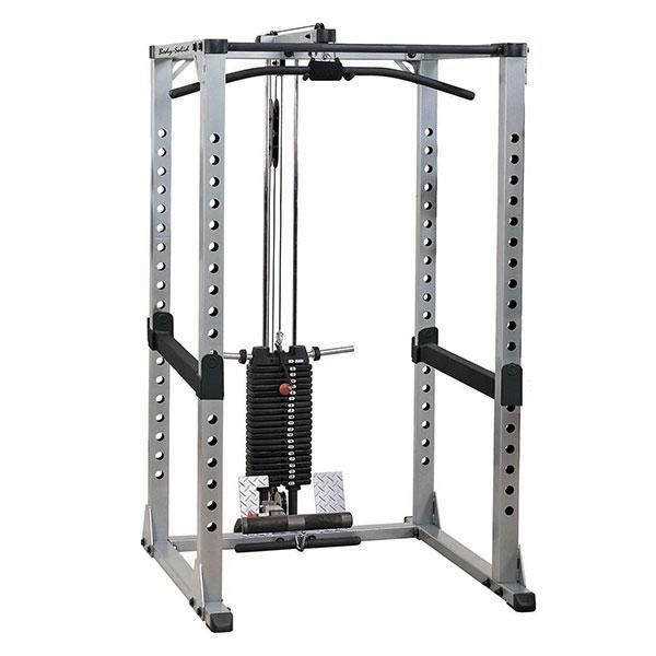 Body Solid Power Rack Lat Attachment Gla378 Body Solid Power