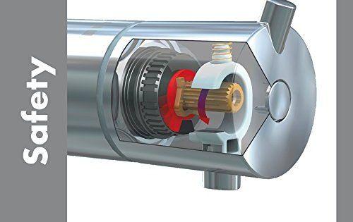 Hansgrohe Mitigeur Thermostatique de Baignoire Versostat 15348000: Garantie 5 ans : des matériaux haut de gamme, une technologie aboutie,…