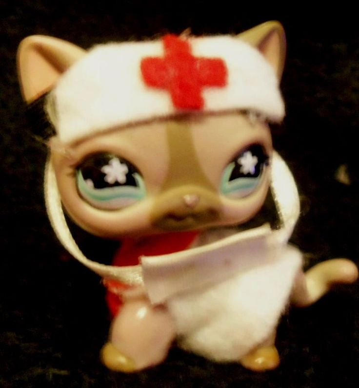 Littlest Pet Shop Accessories Clothes Custom Fashion  LPS For Cats Dogs Doctor  #Hasbro