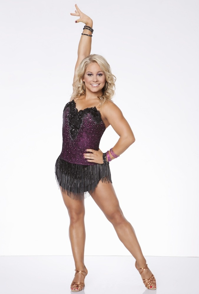 Olympian Shawn Johnson joins TODAY.com to blog 'Dancing With the Stars: All-Stars': http://theclicker.today.com/_news/2012/09/22/14037617-olympian-shawn-johnson-joins-todaycom-to-blog-dancing-with-the-stars-all-stars?lite (Photo: ABC)