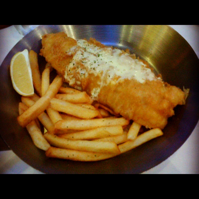 A must try! The best fish n chips in town by fish n co ;)