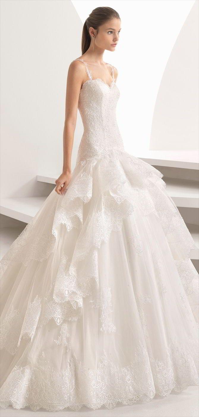 Rosa Clara Herbst 2018 Brautkleid   – Wunderschön