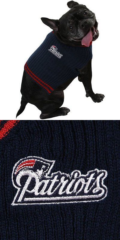 Clothing and Shoes 177796: Pets First Nep-40124 New England Patriots Dog Sweater Large -> BUY IT NOW ONLY: $82.5 on eBay!