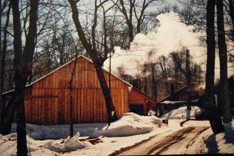 Quebec cabane à sucre (sugar shack)