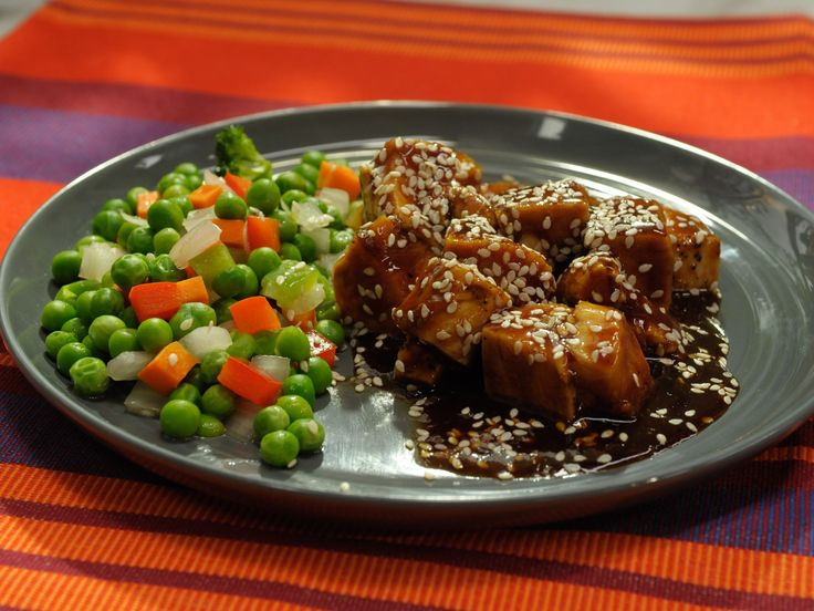 Quick and Easy Sweet and Sticky Orange Chicken Glaze Recipe : Jeff Mauro : Food Network - FoodNetwork.com