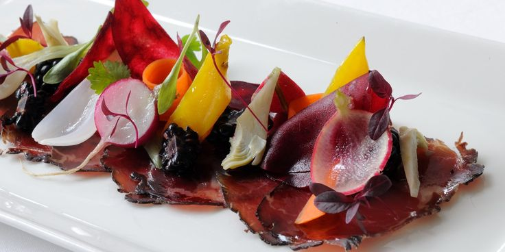 This home cured bresaola recipe from Chef Luke Holder of Lime Wood is a remarkable culinary treat. Fantastic flavour abounds in this remarkable dish