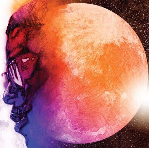 Kid Cudi Releases Best Album Art Of The Year Love the colors here and the effect with the face doing the melting thing.
