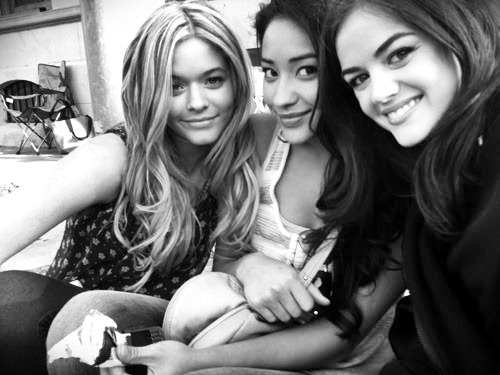Sasha Pieterse, Shay Mitchell and Lucy Hale