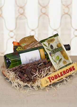 White Wine and Biltong Platter