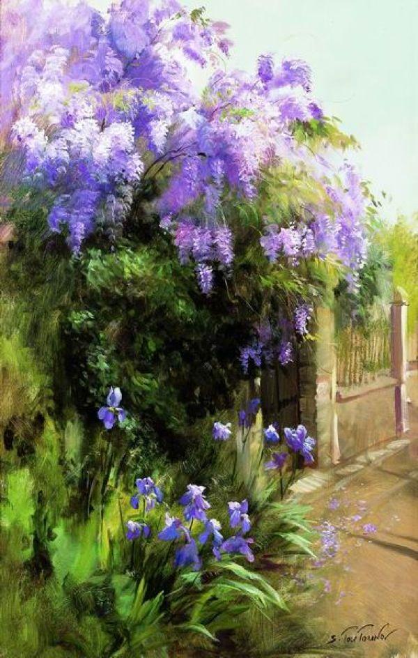 Вдохновляющая живопись Сергея Тутунова.   Творчество - это жизнь!