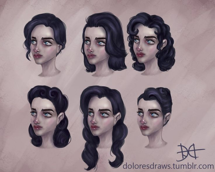 Mirabelle Hairstyles by doloresdraws on DeviantArt