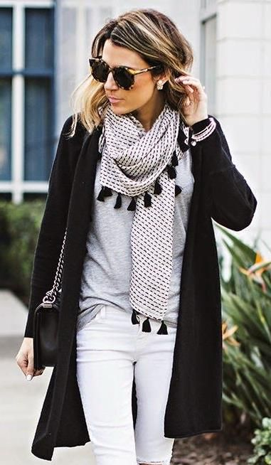 Outfit and great scarf